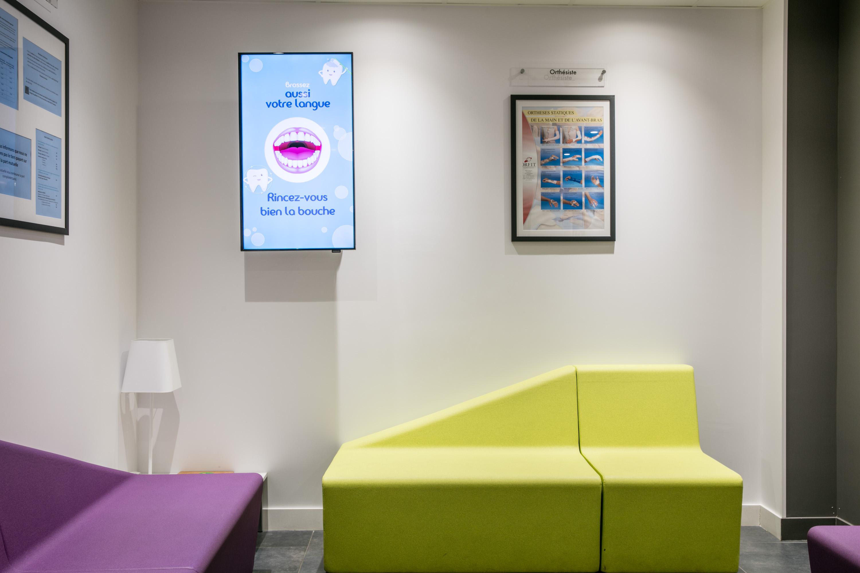 Affichage dynamique salle d'attente